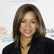 Antonia Thomas Hair - Medium Straight Cut