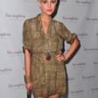 Ashlee Simpson Print Dress