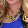 Ashley Benson Jewelry - Bronze Statement Necklace