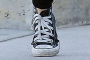 Ashley Benson Canvas Sneakers