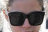 Ashley Benson Novelty Sunglasses
