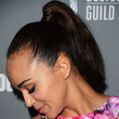 Ashley Madekwe Ponytail