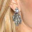 Ashley Olsen Jewelry - Dangling Diamond Earrings