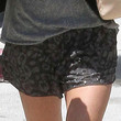 Ashley Tisdale Clothes - Dress Shorts