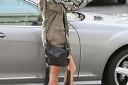 Ashley Tisdale Leather Messenger Bag