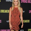 Ashley Tisdale Clothes - Print Dress