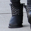 Ashley Tisdale Studded Boots