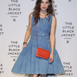 Astrid Berges Frisbey Denim Dress