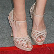 Aubrey Plaza Shoes - Strappy Sandals