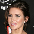 Audrina Patridge Hair - Bobby Pinned updo