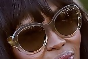 Naomi Campbell Oversized Sunglasses