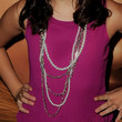 Bailee Madison Layered Beaded Necklace