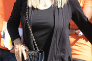 Barbra Streisand Quilted Leather Bag