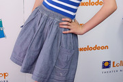 Bella Thorne Denim Skirt