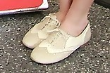 Bella Thorne Flat Oxfords