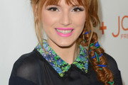 Bella Thorne Long Braided Hairstyle
