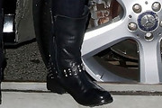 Bethenny Frankel Motorcycle Boots