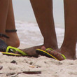 Beyonce Knowles Shoes - Flip Flops