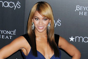 Beyonce Knowles Long Straight Cut with Bangs