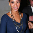 Beyonce Knowles Jewelry - Silver Statement Necklace
