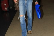 Billy Bob Thornton Ripped Jeans