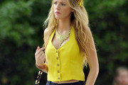 Blake Lively Halter Top