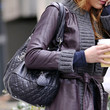 Blake Lively Quilted Leather Bag