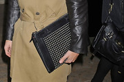 Brad Goreski Leather Clutch