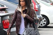 Brenda Song Leather Jacket