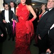 Brigitte Nielsen Clothes - Evening Dress