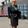 Brigitte Nielsen Clothes - Skirt Suit