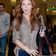 Brittany Snow Clothes - Button Down Shirt