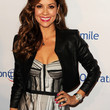 Brooke Burke Charvet Clothes - Leather Jacket