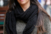 Camila Alves Knit Scarf
