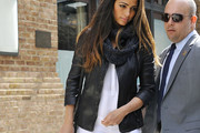 Camila Alves Leather Jacket