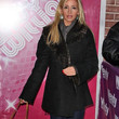 Camille Grammer Clothes - Wool Coat