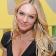 Candice Swanepoel Hair - Long Center Part