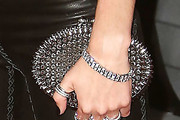 Candice Swanepoel Studded Clutch