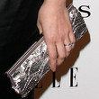 Cara Buono Sequined Clutch