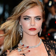 Cara Delevingne Long Straight Cut