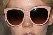 Carey Mulligan Oversized Sunglasses