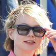 Carey Mulligan Sunglasses - Rectangular Sunglasses