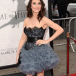 Carice Van Houten Clothes - Strapless Dress