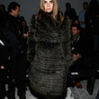 Carine Roitfeld Clothes - Fur Coat