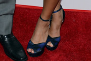 Catherine Giudici Peep Toe Pumps