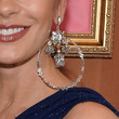 Catherine Zeta Jones Jewelry - Dangling Diamond Earrings