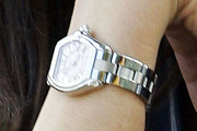 Catherine Zeta Jones Sterling Bracelet Watch