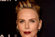 Charlize Theron Updos