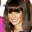 Cheryl Cole Hair - Medium Straight Cut with Bangs