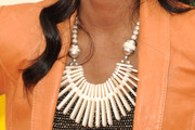 China Anne Mcclain Ivory Statement Necklace